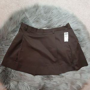 Old Navy Short Brown Skirt Size 14 NWT
